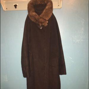 Vintage Ladies wool coat.